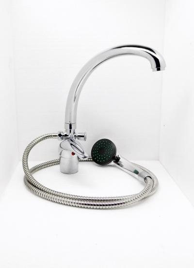 Egykaros álló kád-mosdó (KMT) csaptelep C200+Z