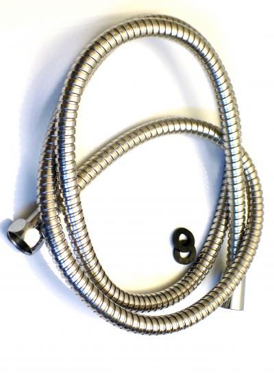 Zuhany gégecső standard fém 1,50 m