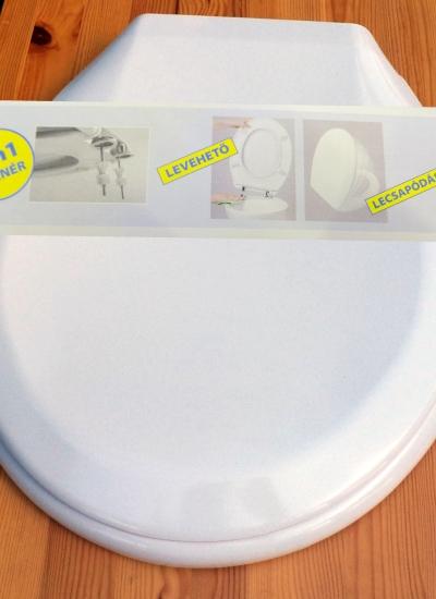 WC ülőke DUROPLAST Fehér. Prémium