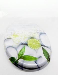WC ülőke MDF fémzsanéros. Lemonade