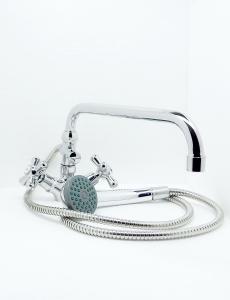 Partner Classic álló kád-mosdó (KMT) csaptelep U300. Zuhanyszettel kpl.