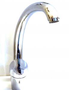 Raab-NEO Egykaros álló mosogató csaptelep íves lengőcsővel