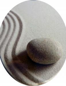 WC ülőke MDF 3D. mintás Kő és Homok